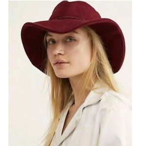 New Free People Tennessee Suede Bucket Hat